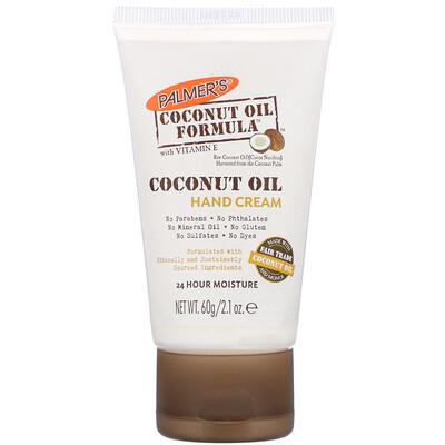Купить Кокосовое масло, Крем для рук, 2, 1 унции (60 г)