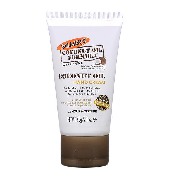 Aceite de coco, Crema para las manos, 60 g (2,1 fl oz.)