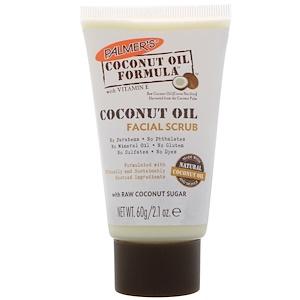 Палмерс, Coconut Oil Formula, Facial Scrub, 2.1 oz (60 g) отзывы покупателей