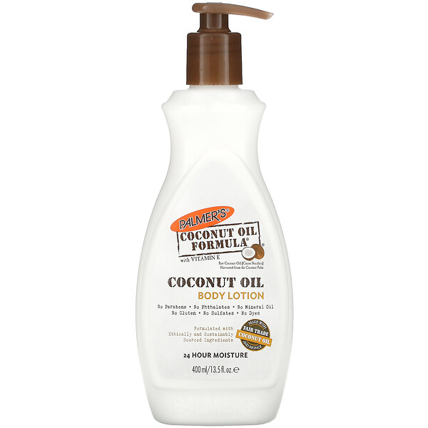Coconut Oil Formula with Vitamin E, Coconut Oil Body Lotion, 13.5 fl oz (400 ml)