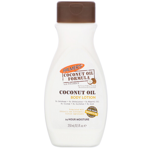 Coconut Oil Formula, Body Lotion, 8.5 fl oz (250 ml)