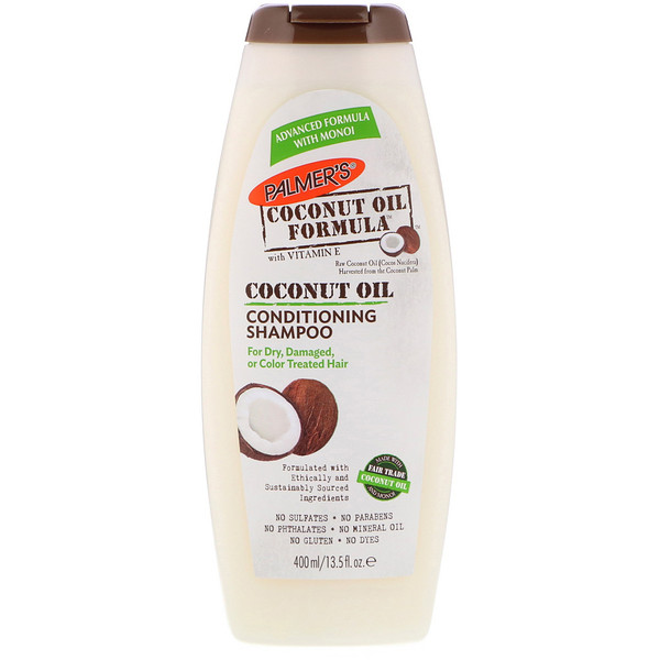 Conditioning Shampoo, Coconut Oil, 13.5 fl oz (400 ml)