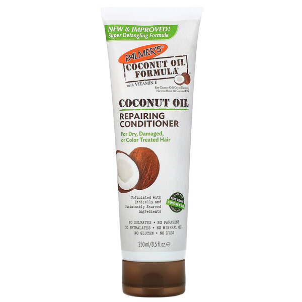 Coconut Oil Formula, Repairing Conditioner, 8.5 fl oz (250 ml)
