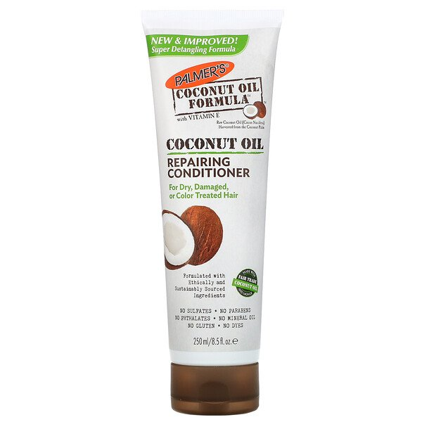Coconut Oil Formula, Acondicionador reparador, 8.5 fl oz (250 ml)