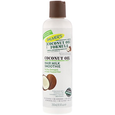 Palmer's 椰子油配方,頭髮牛奶思慕雪,8.5液量盎司(250毫升)