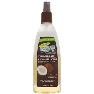 Palmer's, Coconut Oil Formula, Zero Break, Reconstructor, 8.5 fl oz (250 ml)