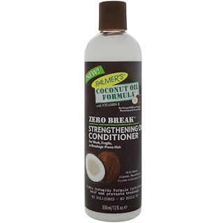 Palmer's, Coconut Oil Formula, Zero Break, Strengthening Oil Conditioner, For Weak, Fragile, or Breakage-Prone Hair, 12 fl oz (350 ml)