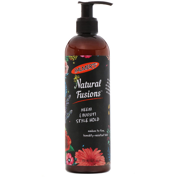 Natural Fusions, Neem & Buruti Style Hold, 12 fl oz (350 ml)