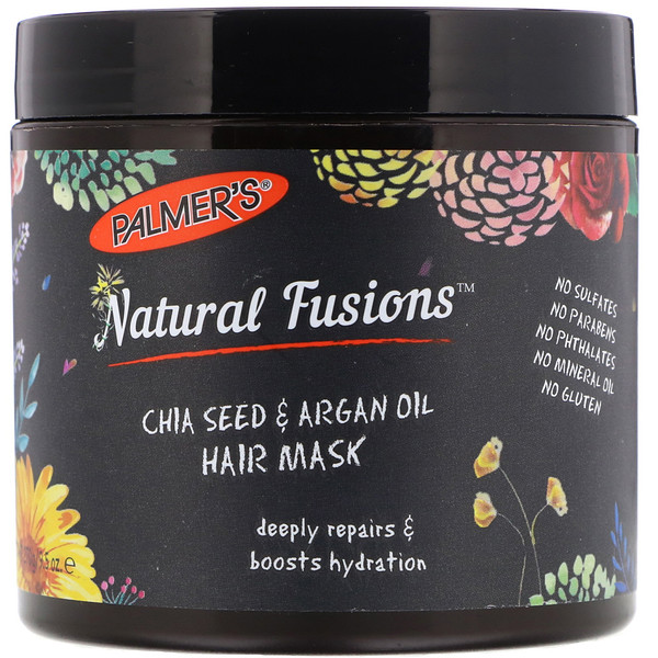 Palmer's, Natural Fusions, Chia Seed & Argan Oil Hair Mask, 9.5 oz (270 g)
