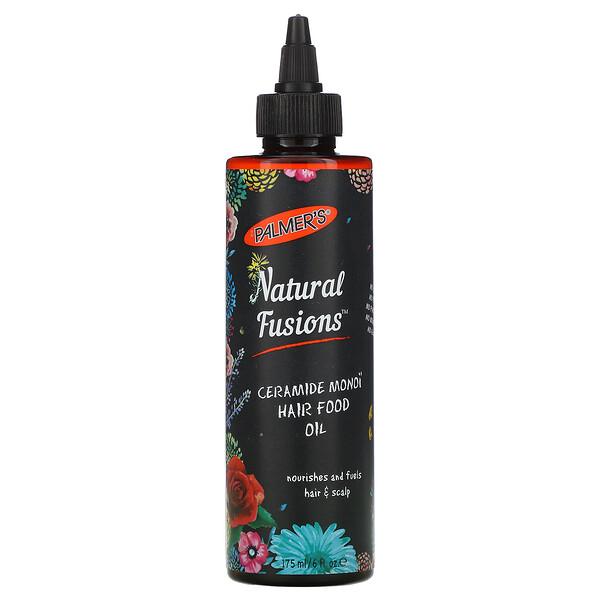 Palmer's, Natural Fusion، زيت سيراميد مونوي لتغذية الشعر، 6 أونصة سائلة (175 مل) (Discontinued Item)