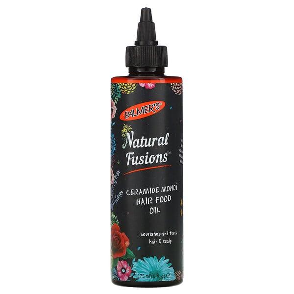 Palmer's, Natural Fusion, Ceramide Monoi Hair Food Oil, 6 fl oz (175 ml) (Discontinued Item)