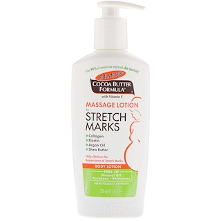 Palmer's, Cocoa Butter Formula, Massage Lotion for Stretch Marks, Body Lotion, 8.5 fl oz (250 ml)