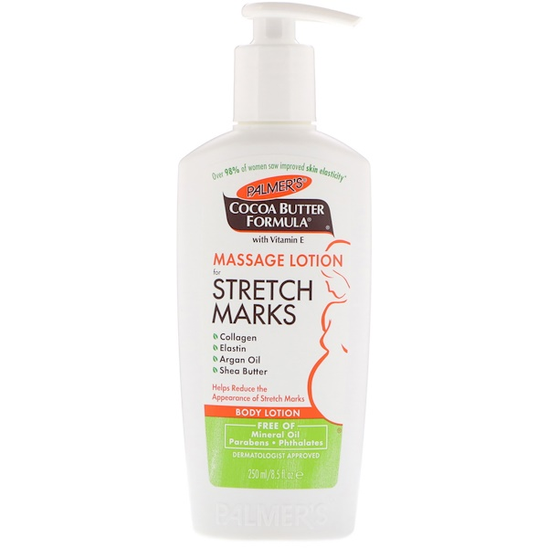Cocoa Butter Formula, Body Lotion, Massage Lotion for Stretch Marks, 8.5 fl oz (250 ml)