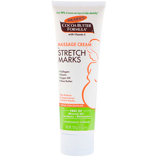 Palmer's, Cocoa Butter Formula, Massage Cream for Stretch Marks, 4.4 oz (125 g)