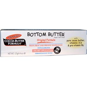 Палмерс, Cocoa Butter Formula, Bottom Butter, Diaper Rash Cream, Original Formula, 4.4 oz (125 g) отзывы покупателей