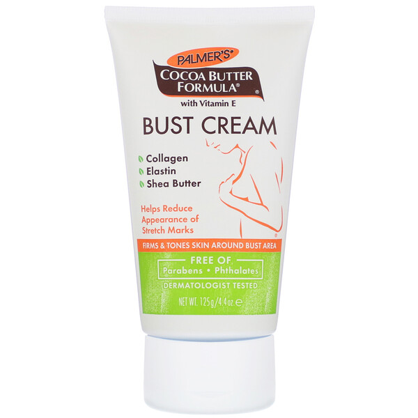 Cocoa Butter Formula, Bust Cream with Bio C-Elaste, 4.4 oz (125 g)