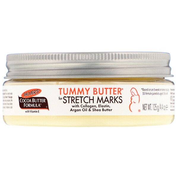 Cocoa Butter Formula, Tummy Butter, For Stretch Marks, 4.4 oz (125 g)