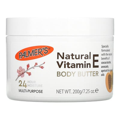 Palmer's Natural Vitamin E Body Butter, 7.25 oz (200 g)