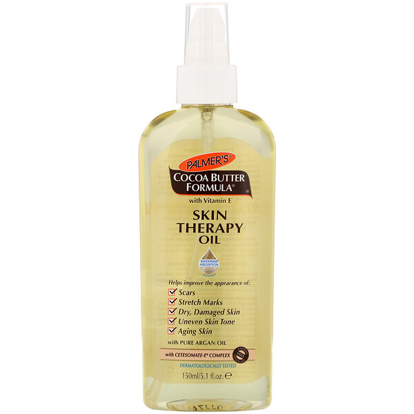 Cocoa Butter Formula, Skin Therapy Oil, 5.1 fl oz (150 ml)