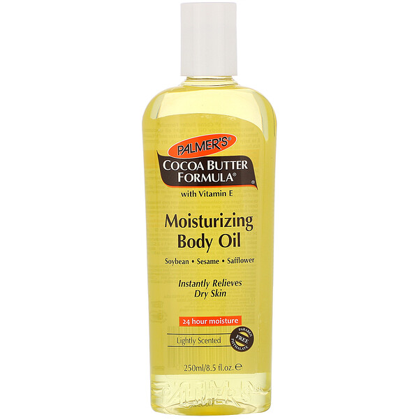 Cocoa Butter Formula, Moisturizing Body Oil, Lightly Scented, 8.5 fl oz (250 ml)