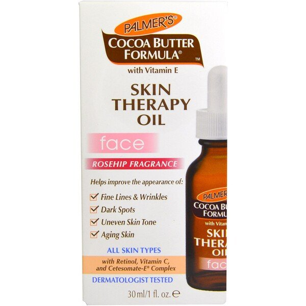 Palmer's, Cocoa Butter Formula, Skin Therapy Oil, Face, Rosehip Fragrance, 1 fl oz (30 ml)