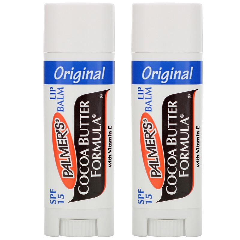 Ultra Moisturizing Lip Balm, SPF 15, Original , 2 Pack, 0.30 oz (0.8 g)