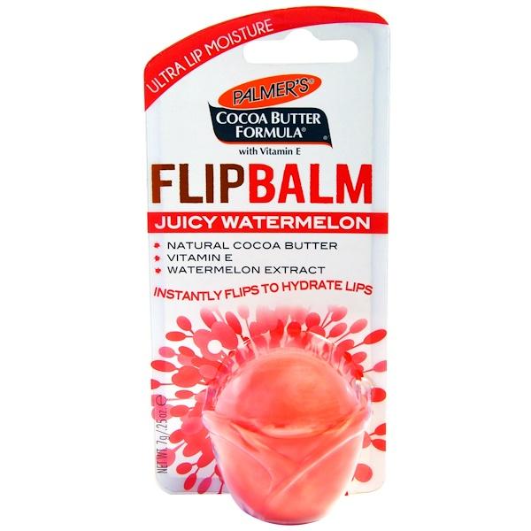 Palmer's, Flip Balm, Juicy Watermelon, 0.25 oz (7 g) (Discontinued Item)