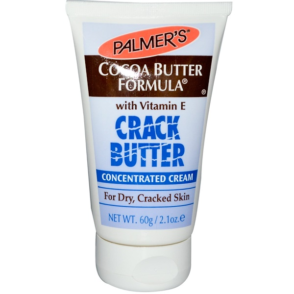 Palmer's, Cocoa Butter Formula, Crack Butter Concentrated Cream with Vitamin E, 2.1 oz (60 g) (Discontinued Item)