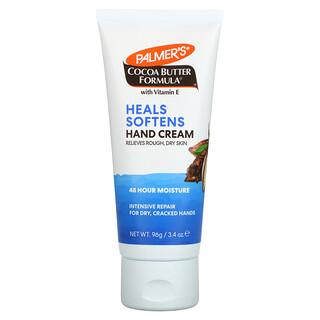 Palmer's, Cocoa Butter Formula with Vitamin E, Heals Softens Hand Cream, 3.4 oz (96 g)