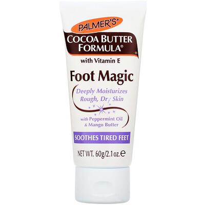 Cocoa Butter Formula, Foot Magic с маслом мяты и манго, 2,1 унции (60 г)