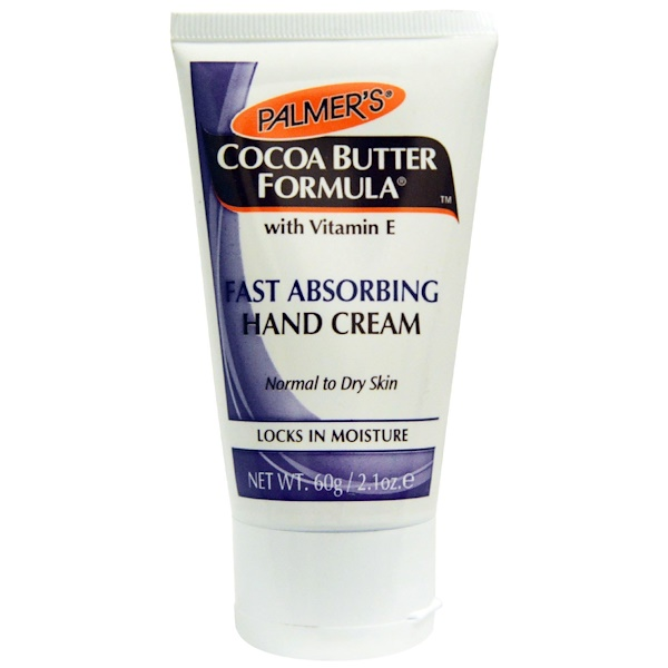 Palmer's, Cocoa Butter Formula, with Vitamin E, Fast Absorbing Hand Cream, 2.1 oz (60 g) (Discontinued Item)