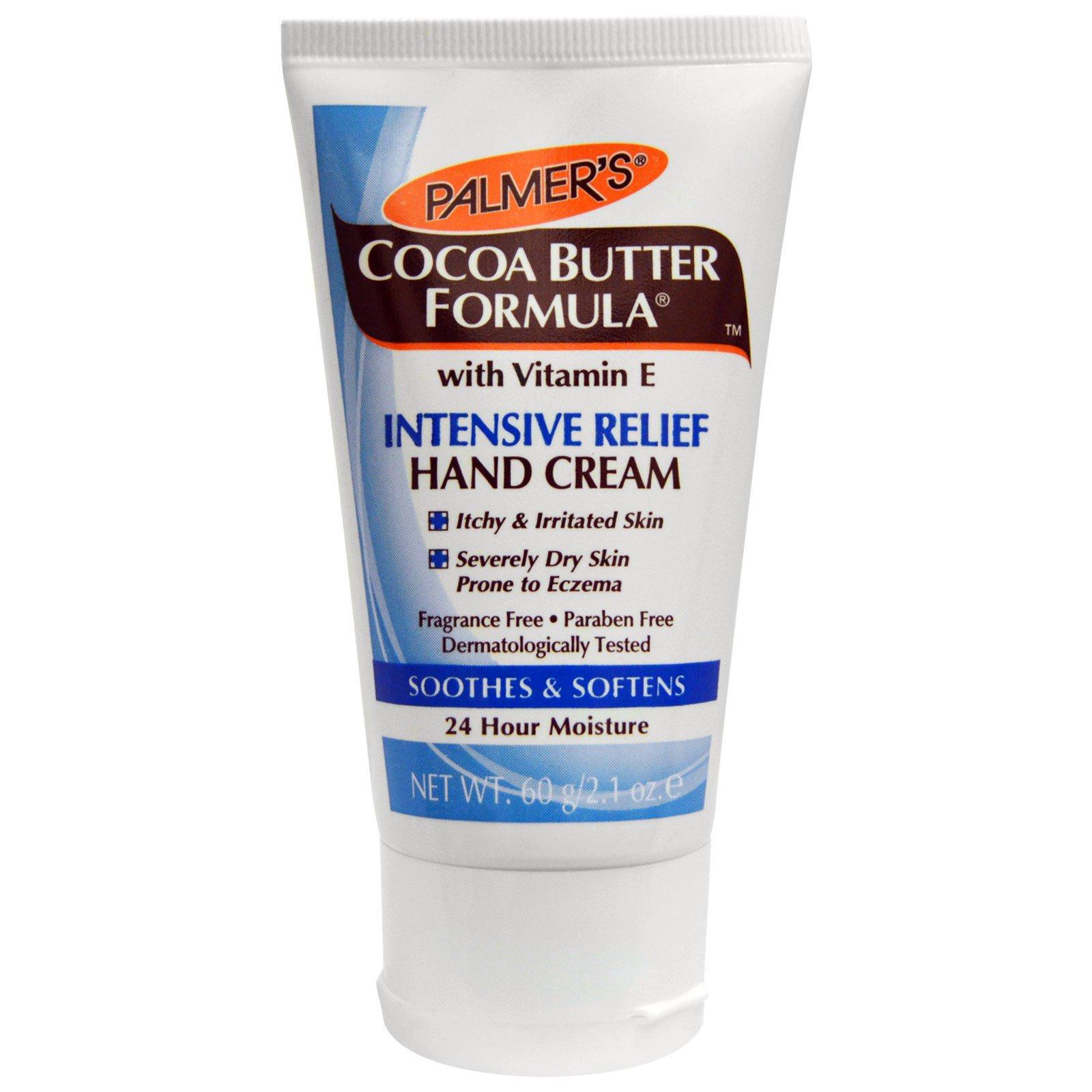 Palmer's, Формула масла какао, крем для рук для интенсивной помощи, без запаха, 60 г (2,1 унции)