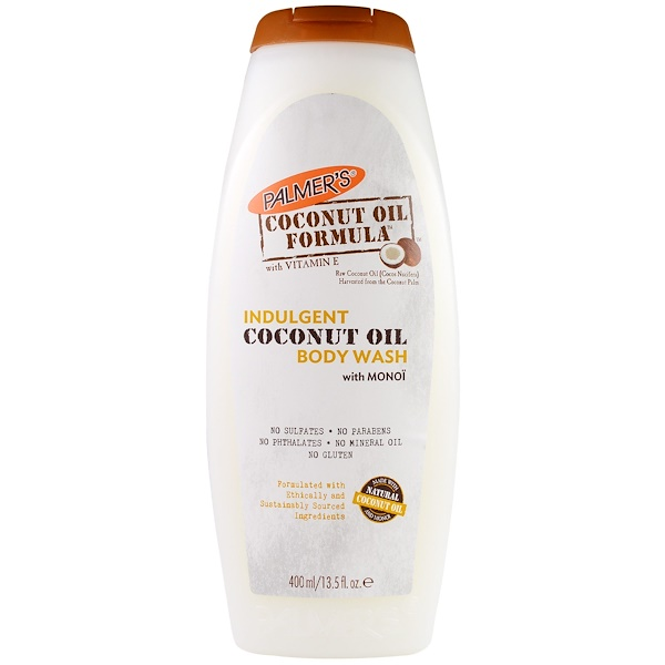 Palmer's, Indulgent Body Wash, Coconut Oil, 13.5 fl oz (400 ml) (Discontinued Item)