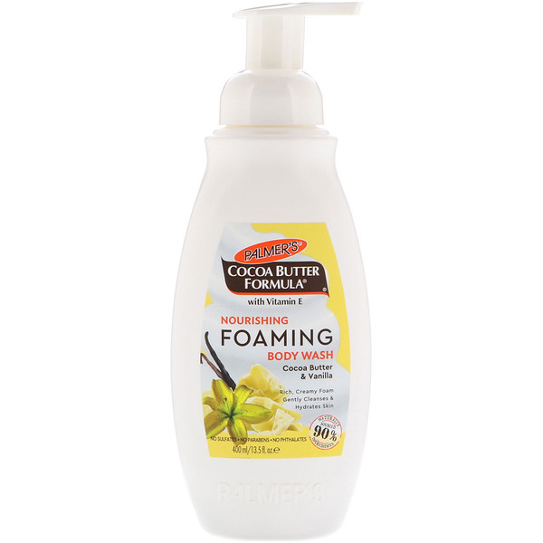 Palmer's, Nourishing Foaming Body Wash, Cocoa Butter & Vanilla, 13.5 fl oz (400 ml) (Discontinued Item)