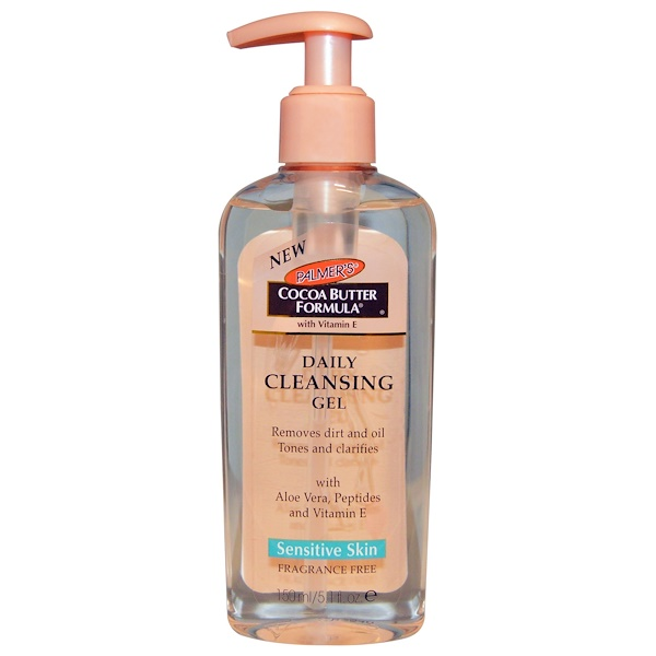 Palmer's, Cocoa Butter Formula, Daily Cleansing Gel, Fragrance-Free, 5.1 fl oz (150 ml) (Discontinued Item)