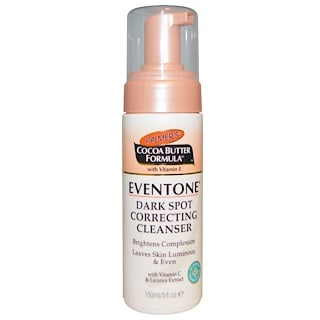 Palmer's, Cocoa Butter Formula with Vitamin E, Eventone Dark Spot Correcting Cleanser, 5 fl oz (150 ml)