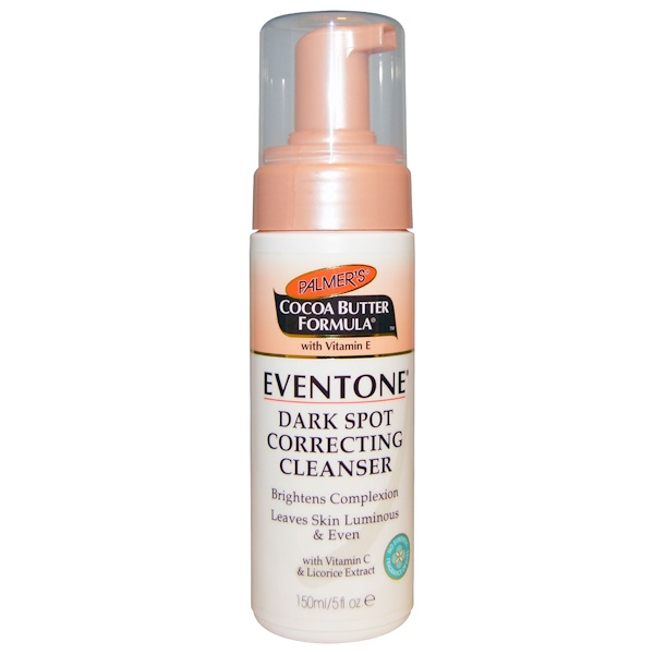 Palmer's, Cocoa Butter Formula with Vitamin E, Eventone Dark Spot Correcting Cleanser, 5 fl oz (150 ml) (Discontinued Item)