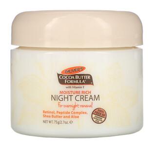 Palmer's, Cocoa Butter Formula, Moisture Rich Night Cream, 2.7 oz (75 g)