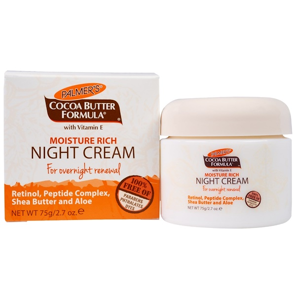 Palmer's, Cocoa Butter Formula, Moisture Rich Night Cream, 2.7 oz (75 g)