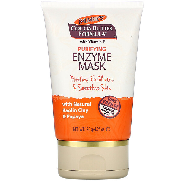 Palmer's, Cocoa Butter Formula with Vitamin E, Purifying Enzyme Mask, 4.25 oz (120 g)