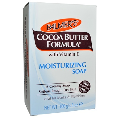 Palmer's 可可脂配方,滋潤皂,3.5盎司(100克)