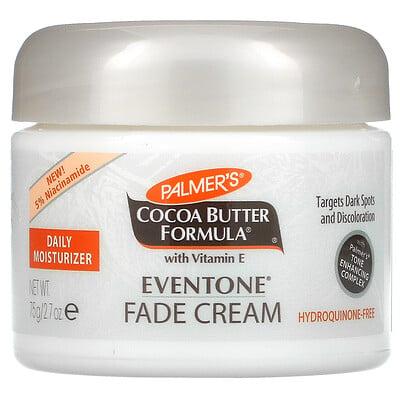 Palmer's Coconut Butter Formula With Vitamin E, Eventone Face Cream, 2.7 oz (75 g)