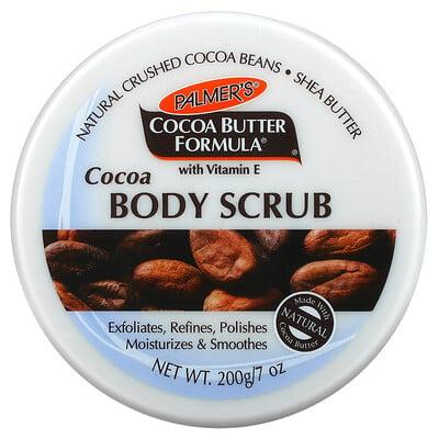 Palmer's Coconut Butter Formula With Vitamin E, Cocoa Body Scrub, 7 oz (200 g)
