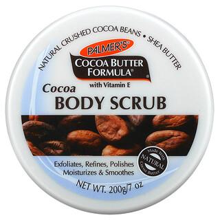 Palmer's, Coconut Butter Formula with Vitamin E, Cocoa Body Scrub,  7 oz (200 g)