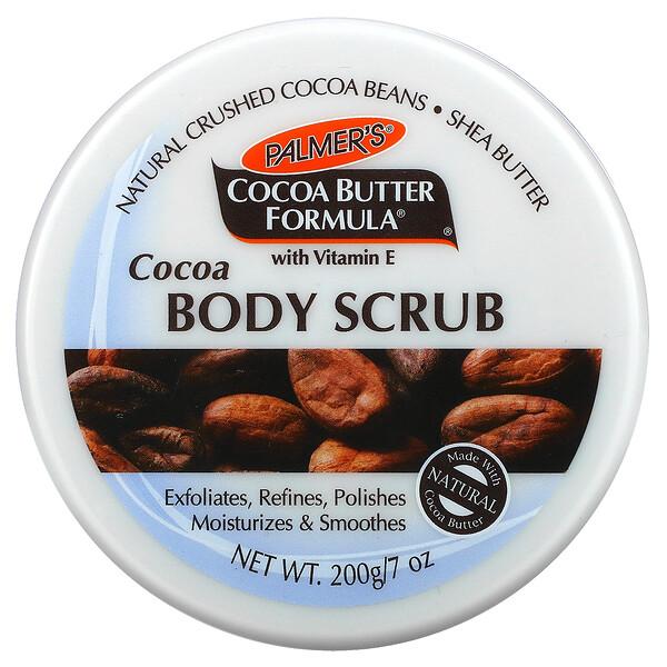 Coconut Butter Formula with Vitamin E, Cocoa Body Scrub,  7 oz (200 g)