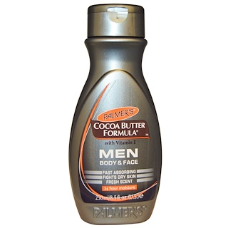 Palmer's, Cocoa Butter Formula with Vitamin E, Body & Face, Men, 8.5 fl oz (250 ml)