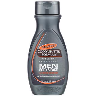 Palmer's, Cocoa Butter Formula with Vitamin E, Body & Face, Men, 8.5 fl oz (250 ml)