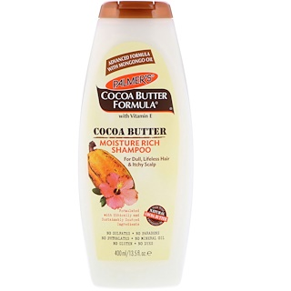 Palmer's, Cocoa Butter Formula, Moisture Rich Shampoo, 13.5 fl oz (400 ml)