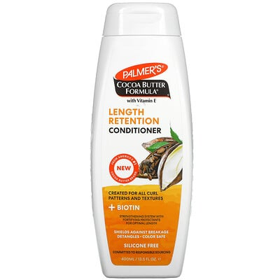 Купить Palmer's Length Retention Conditioner, Coconut Oil, With Vitamin E, 13.5 fl oz (400 ml)