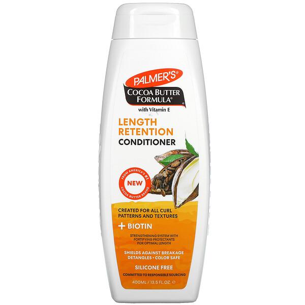 Cocoa Butter Formula with Vitamin E, Length Retention Conditioner, 13.5 fl oz (400 ml)